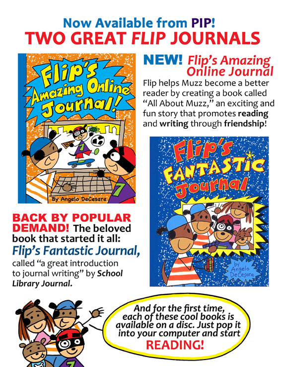 Flip's Fantastic Journal Flyer